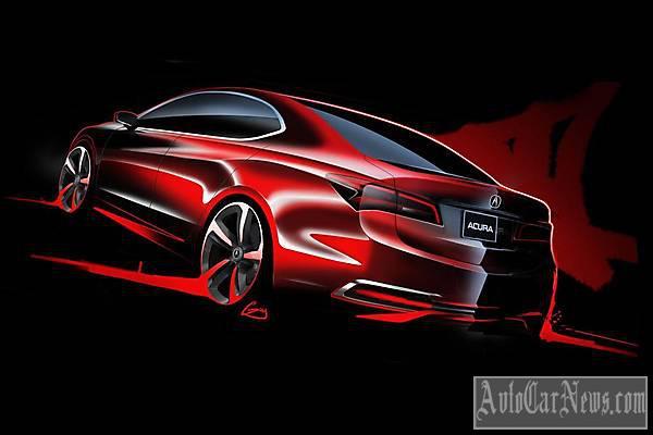 Acura TLX Concept 2014 foto