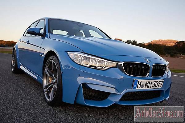 New 2014 BMW M3 Sedan