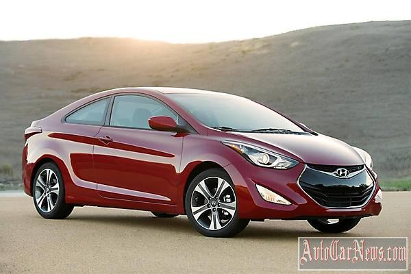New Hyundai Elantra Coupe 2014 Photo