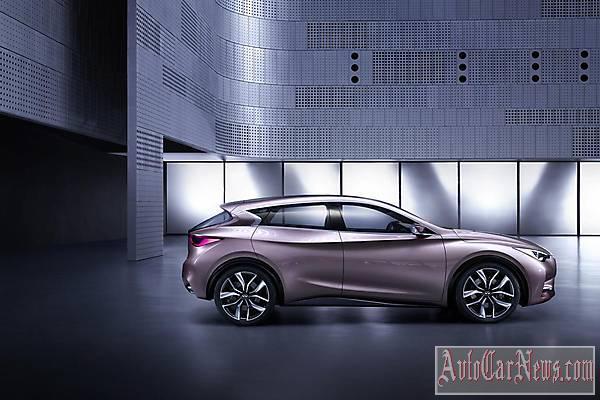 New Infiniti Q30 Concept foto