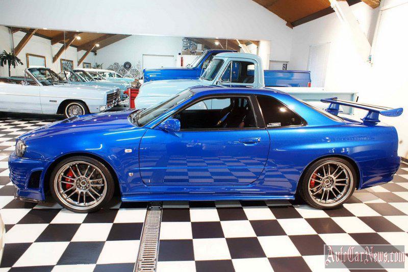 Nissan GT-R Skyline Paul Walkers