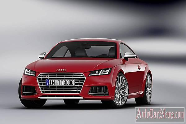 New 2015 Audi TTS Coupe photo