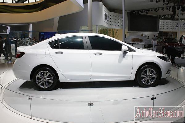 2015 Chevrolet Cruze Chinese Market photo