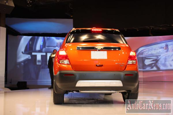 2015 Chevrolet Trax New-York 2014 photo