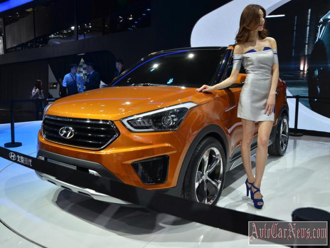 2015 Hyundai ix25 Concept photo
