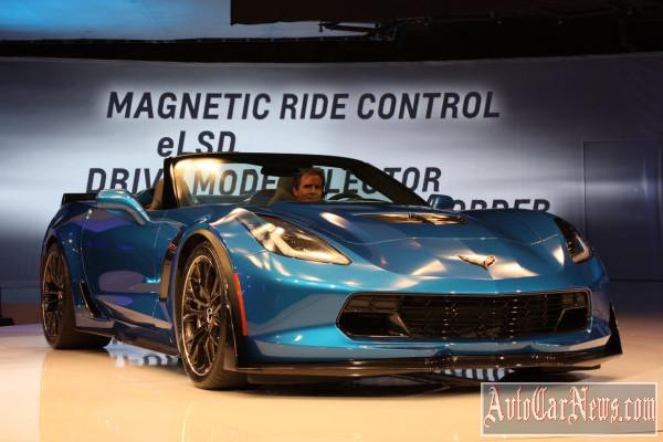 2015 Chevrolet Corvette Z06 New-York 2014 photo