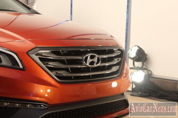 New sedan Hyundai Sonata 2015 New-York 2014 photo