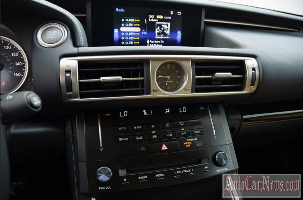 2014 Lexus IS 350 Review Photo