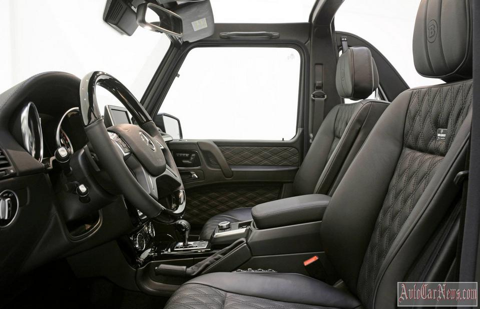 2014 Mercedes Benz G-Class Widestar 6.1 Brabus Photo