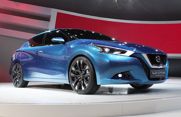 Sedan Nissan Lannia 2015 Debuts in Beijing photo
