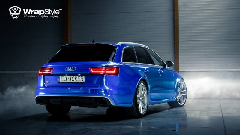 Audi RS6 tuning WrapStyle Photos