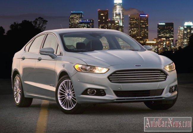 new ford fusion hybrid