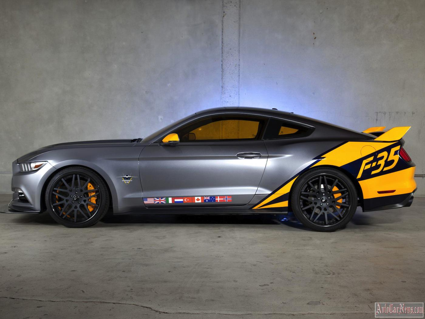 2015 Ford Mustang GT F-35 Lightning II Edition Photo