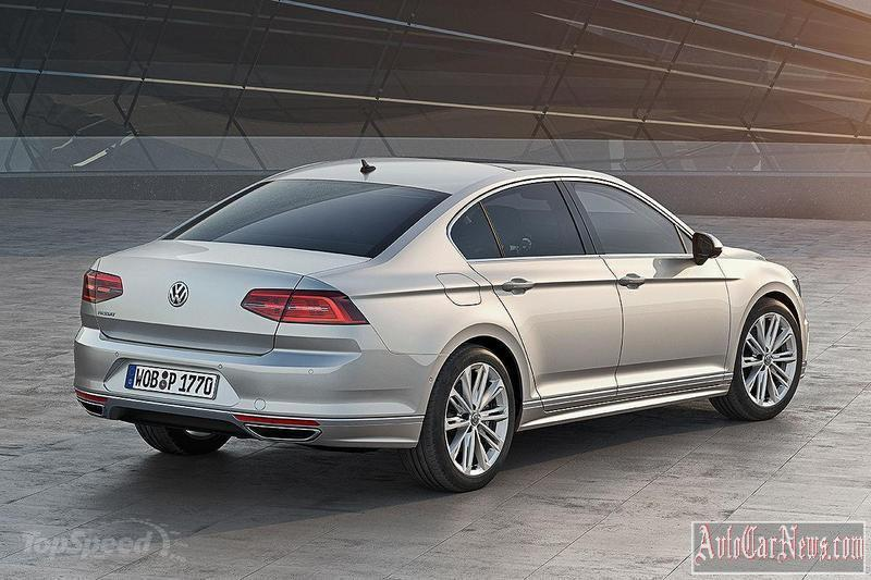 New 2015 Volkswagen Passat Photos