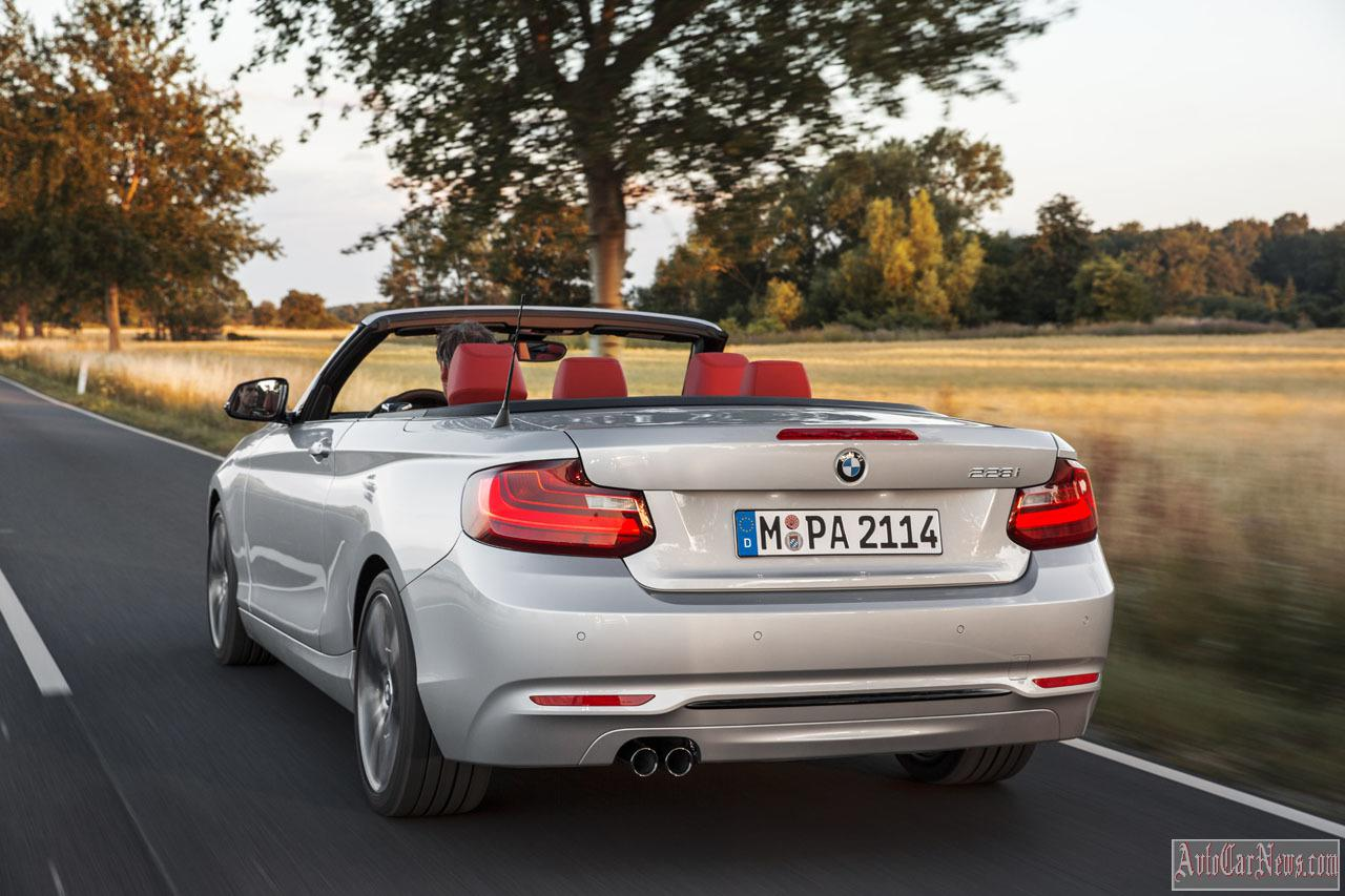 2015 BMW 2-Series Convertible Photos