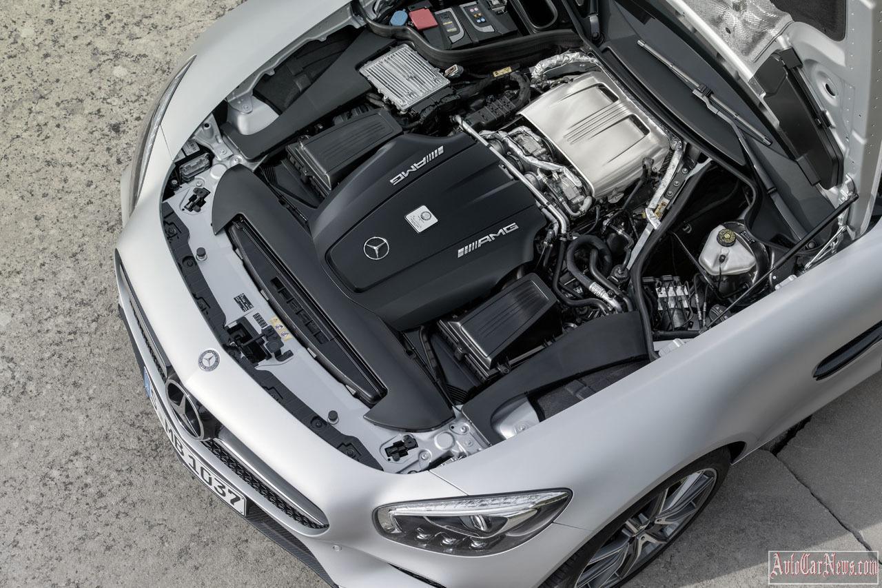 2015 Mercedes-AMG GT Photos