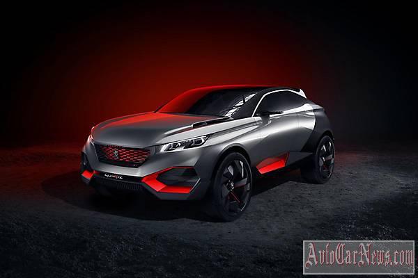2015 Peugeot Quartz Concept Photo