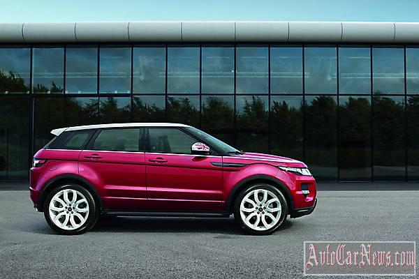 2015 Range Rover Evoque SW1 Photo