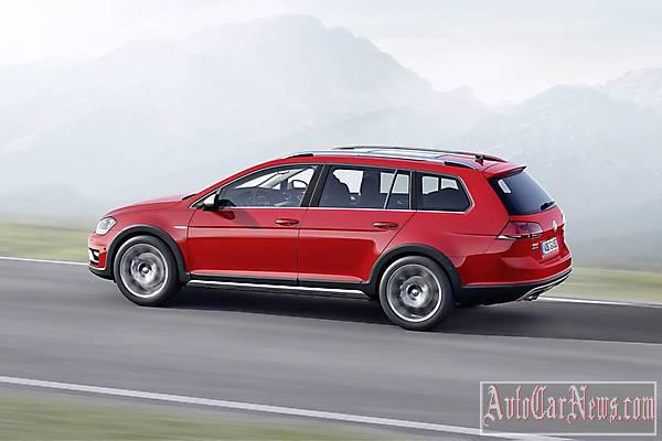 2015Volkswagen Golf Alltrack Photo