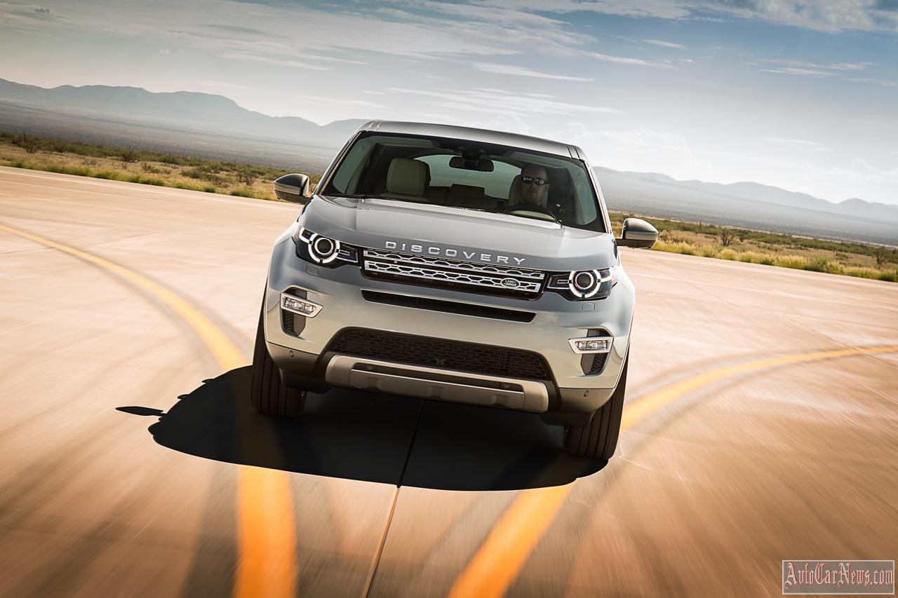 New Land Rover Discovery Sport 2015 Photos