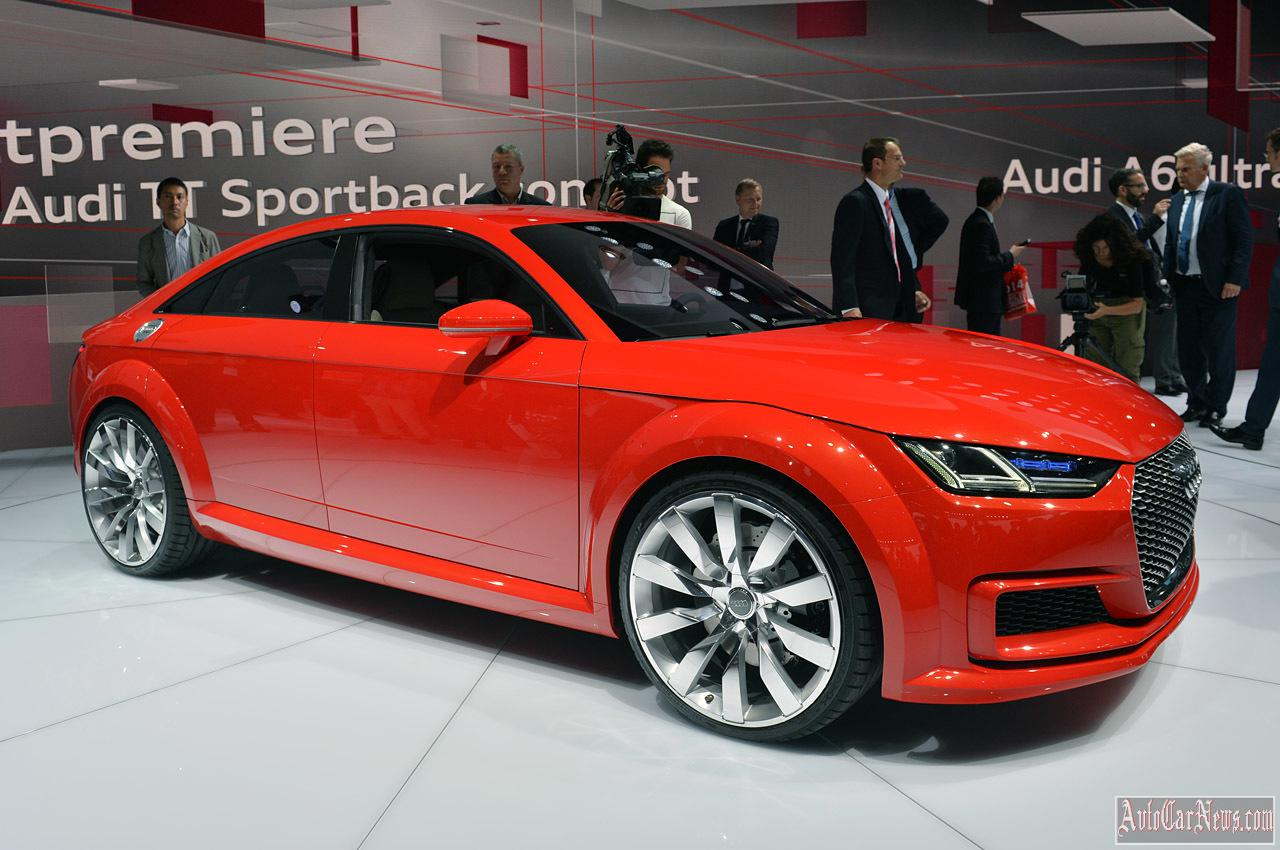 2015 Audi TT Sportback Concept Paris 2014 Photo