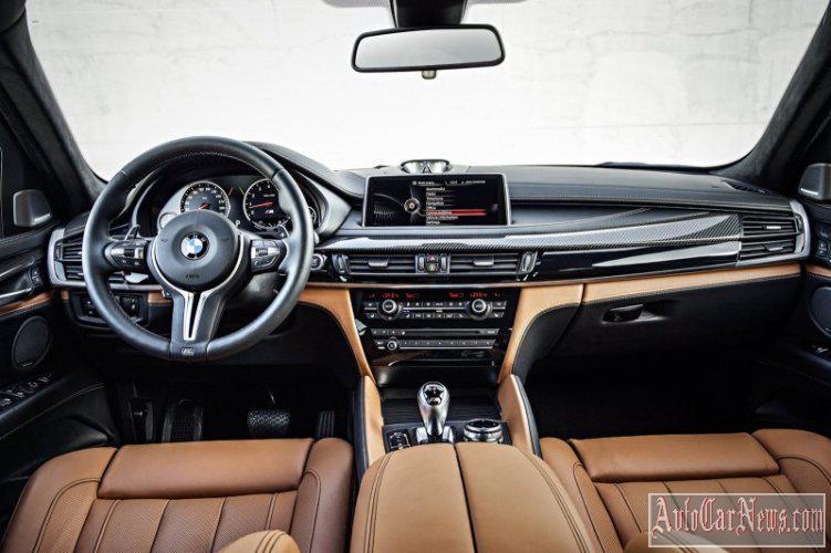 2015 BMW X5 M & BMW X6 M Photos