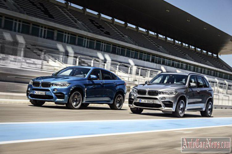 2015 BMW X5 M & BMW X6 M Photos