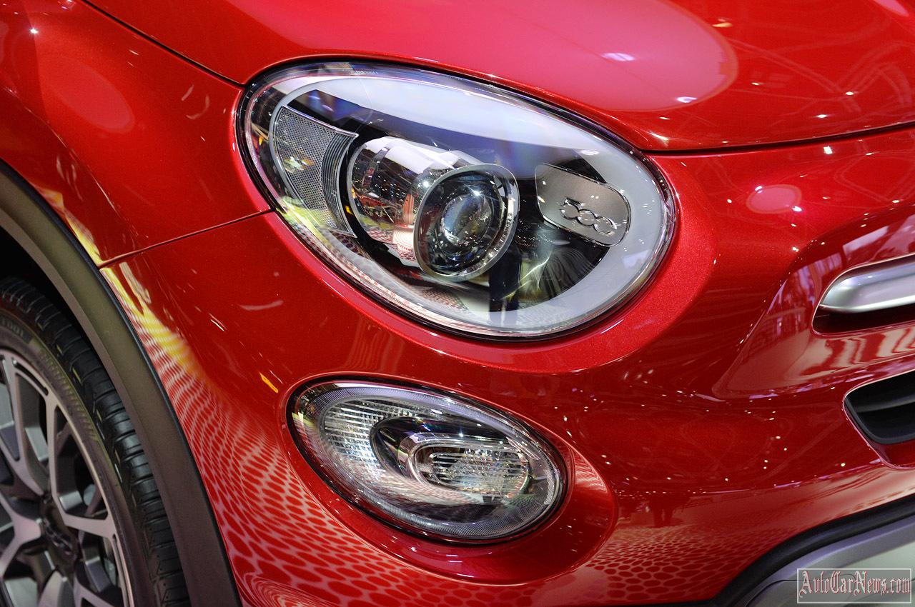 2015 Fiat 500X Paris 2014 Photos