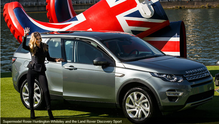 2015 Land Rover Discovery Sport Paris Photo