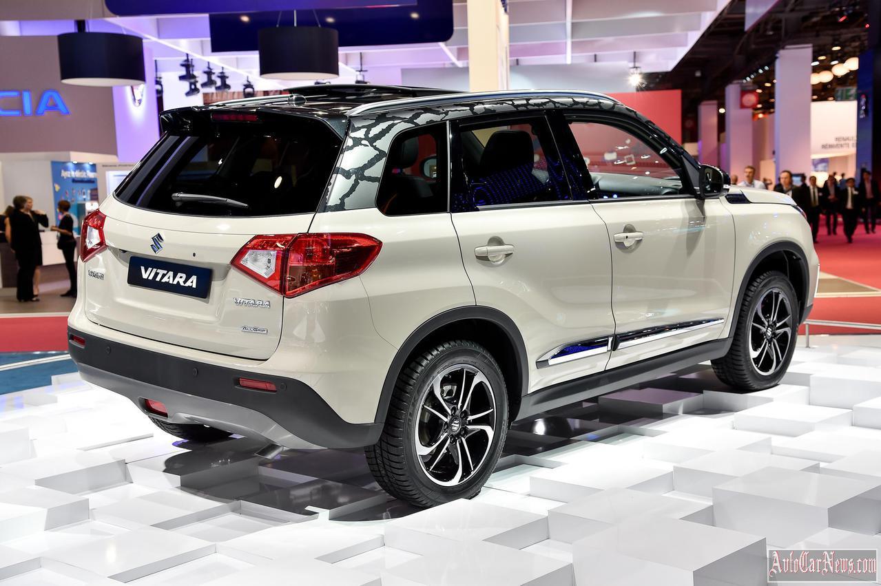 2015 Suzuki Vitara Paris 2014 Photo