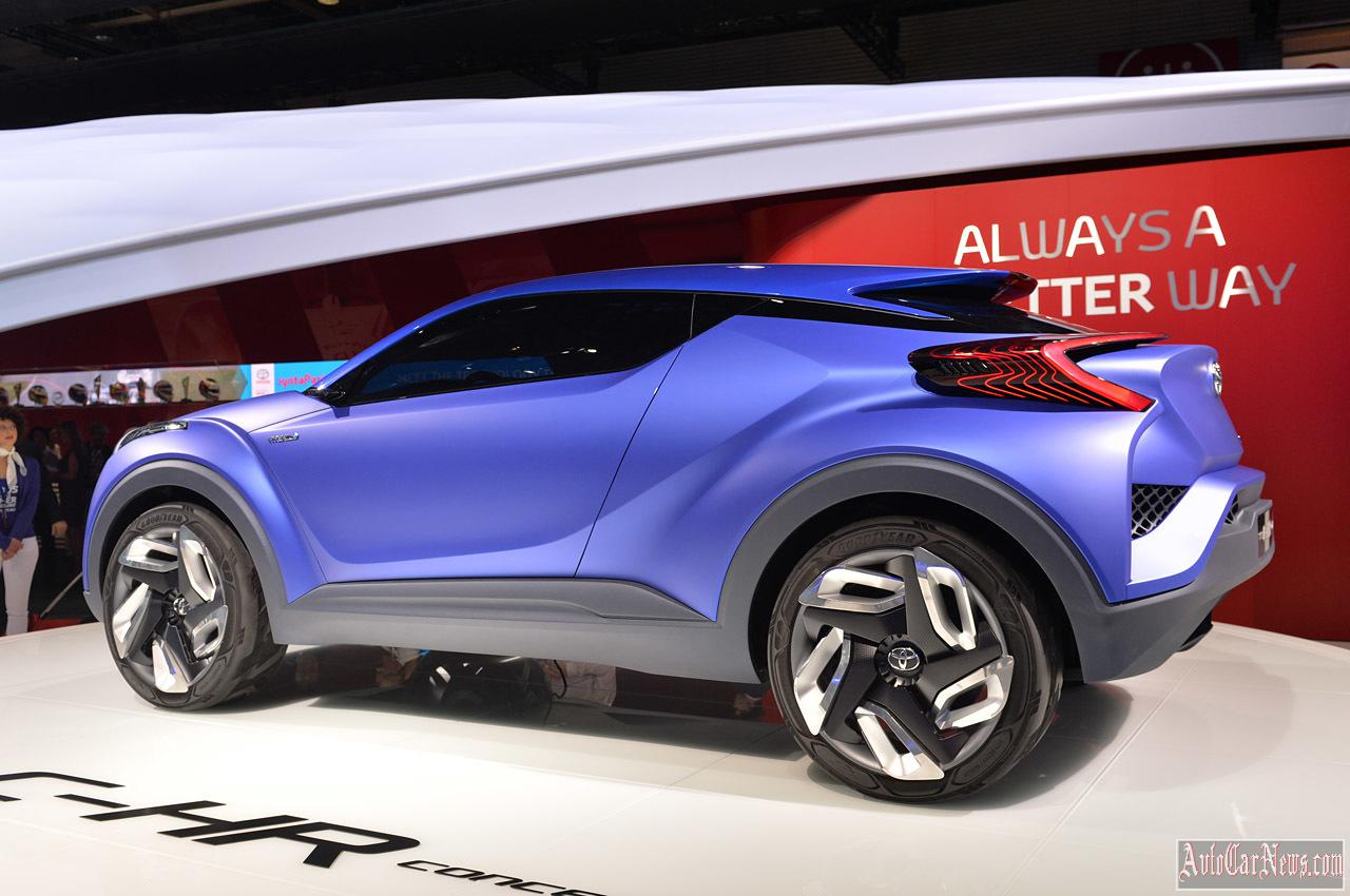 2015 Toyota C-HR Concept Paris 2014 Photo