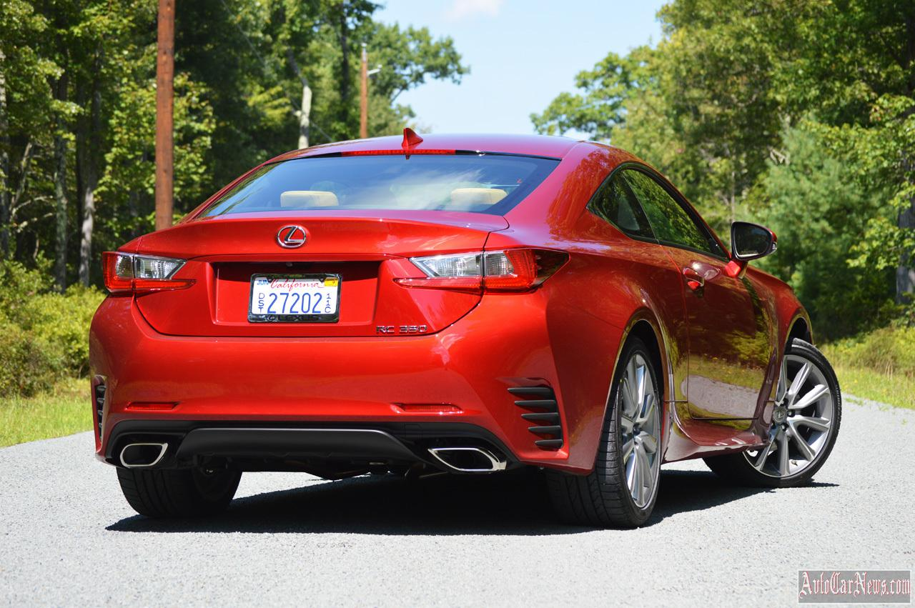2015 Lexus RC 350 Photos