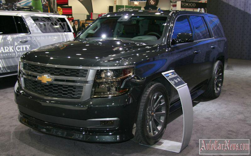 2015 Chevrolet Tahoe in Russia Photo