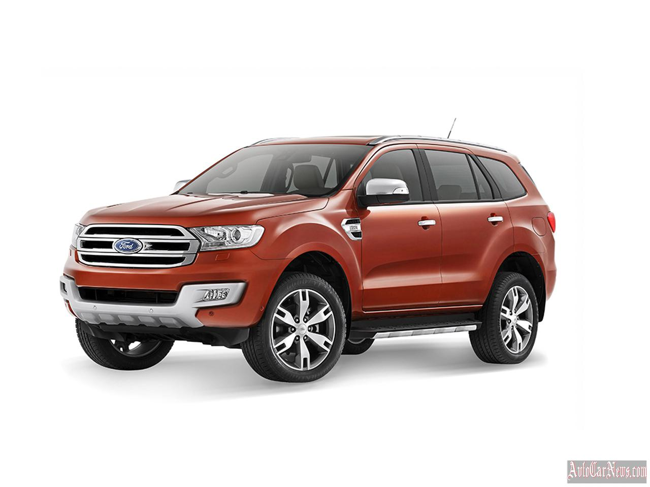 2015 Ford Everest Photos