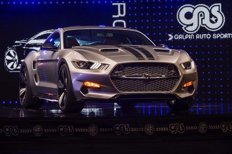 2015 Ford Mustang Rocket: LA2014 Photos