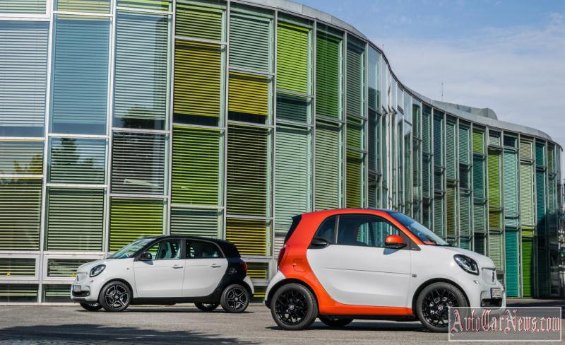 2015 Smart ForFour and ForTwo in Russia Photo