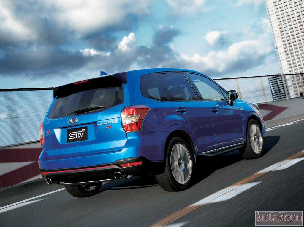2015 Subaru Forester tS TSI Photo