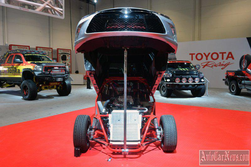 2015 Toyota Sleeper Camry Dragster Photo