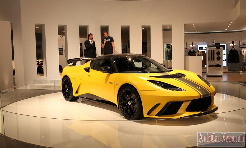 2014 Lotus Evora GTE Photo