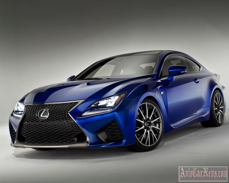 2015 Lexus RC F Photos