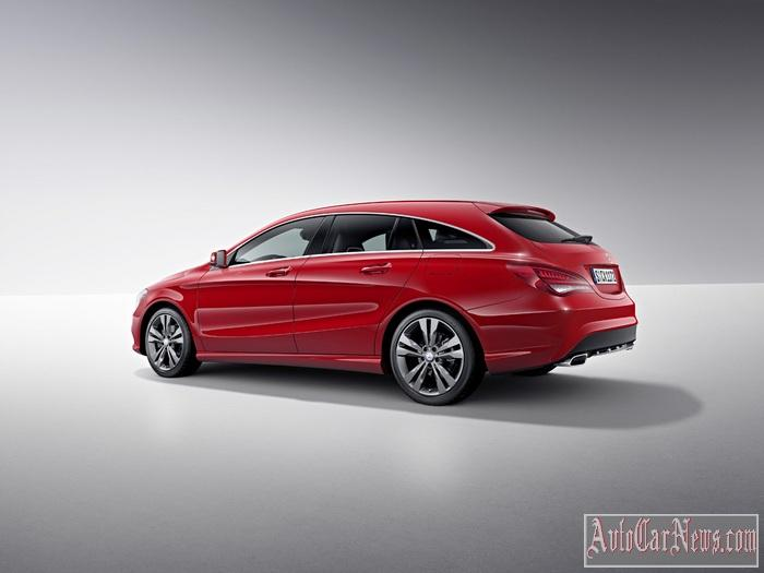 2015 Mercedes-Benz CLA45 AMG Shooting Brake Photo