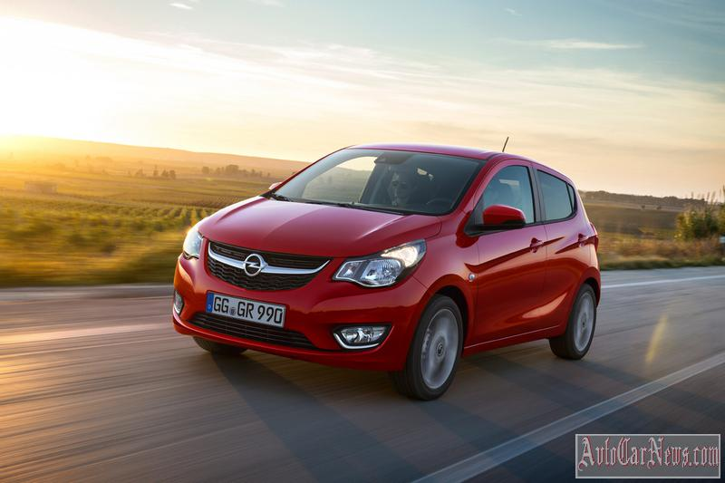 2015 Opel Karl Photos