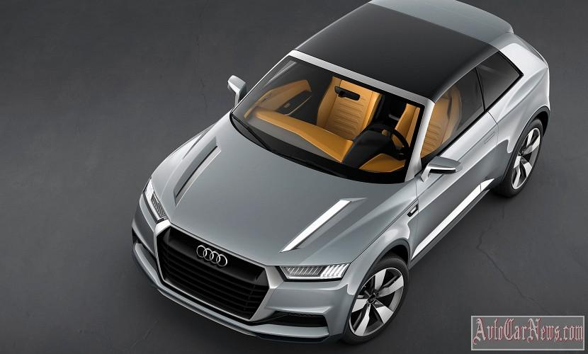 2016 Audi Q1 Crosslane Coupe Photos