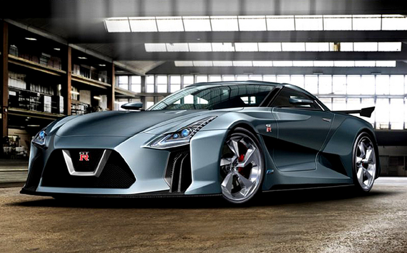 2020 Nissan GT-R Concept Photos