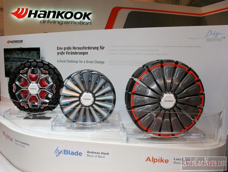 Hankook Tire predstavil v Essene Shiny Buduschego