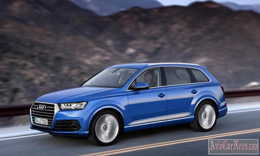 New 2015 Audi Q7 II Photos