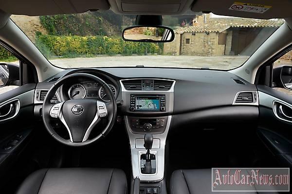 Фото нового авто Nissan Sentra 2015
