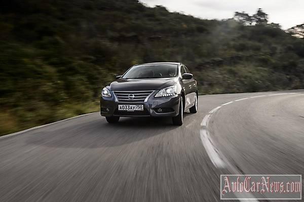 New Nissan Sentra 2015 фото авто