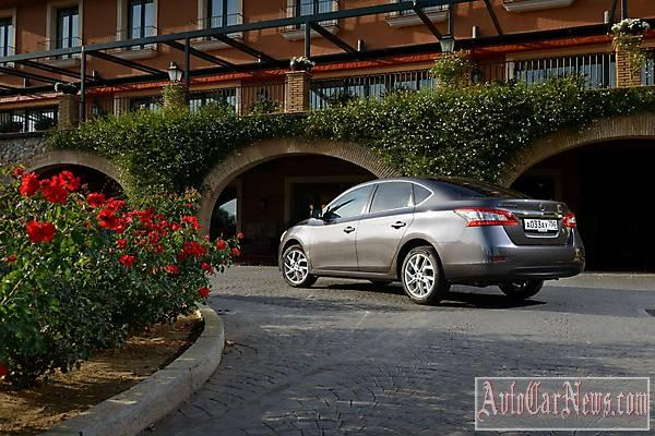 Nissan Sentra 2015 new photo