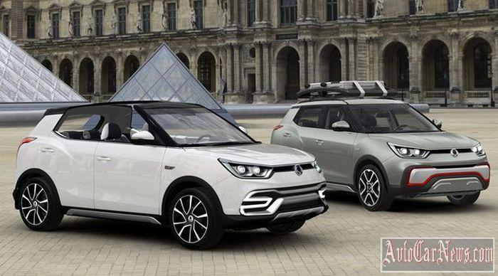 New 2015 SsangYong X100 Photo